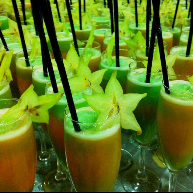 Ej rcito de sorbetes de manzana verde y mandarina al - Sorbete de manzana verde ...