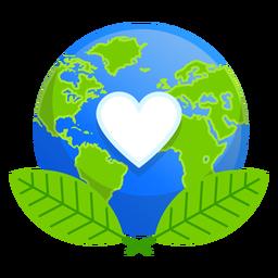 Earth Nature Love Icon Icon Graphic Image Graphic Resources