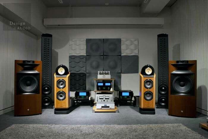 High end audio audiophile music listening room design ...