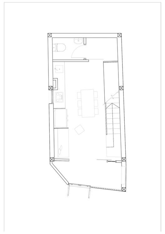 Gallery Of Micro Town House 4x8m Mm Architects 19 Town House Plans Townhouse Architect