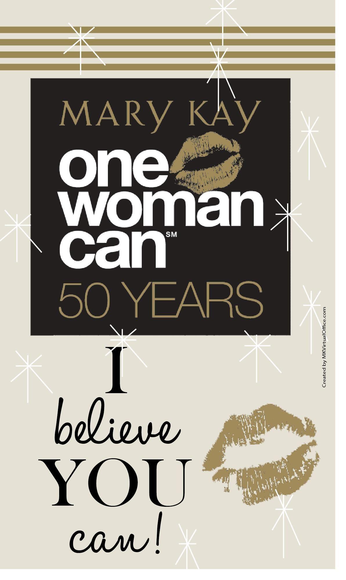 Uma mulher pode.
