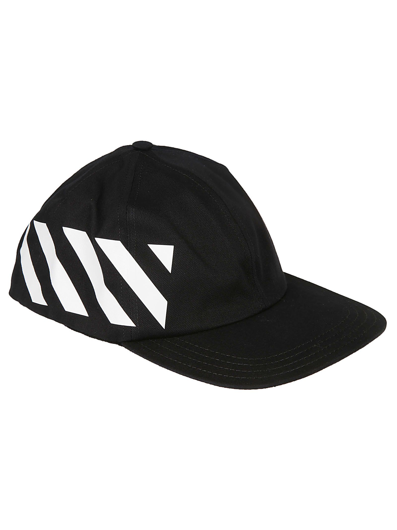 ec368aaa159cba OFF-WHITE OFF-WHITE STRIPED BASEBALL CAP. #off-white | Off-White in ...
