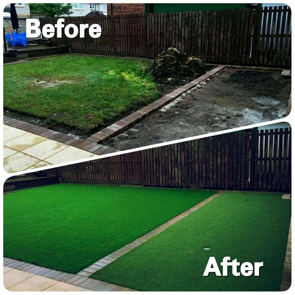 Before and after glasgow putting green westlothianlandscapedesign before and after glasgow putting green workwithnaturefo