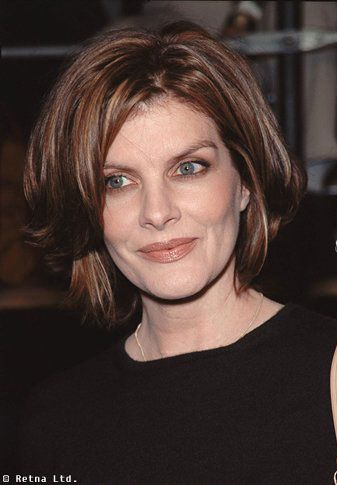 rene russo - never had short hair but this cut & color is pretty ...