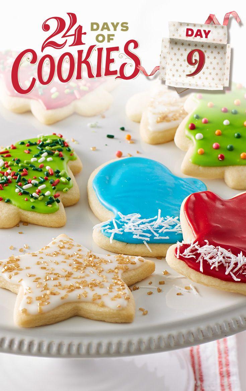 Classic Christmas Sugar Cookie Cutouts