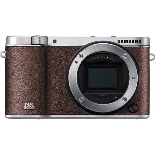 Samsung NX3000 NX3000BN Smart Camera (Body Only) - Brown ...