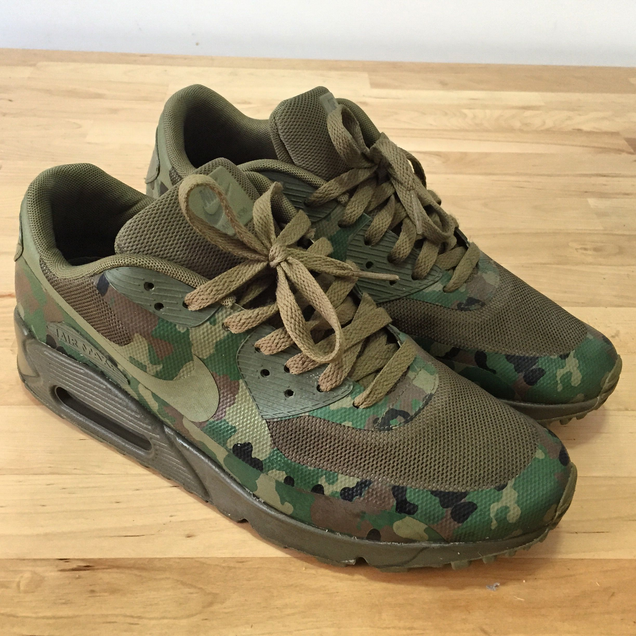 c809f0b85253c Nike Air Max 90 SP Country Camo Japan 624728-220 Size 9 Men ...