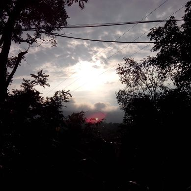 Sunsets and Street Inside-Jansooh -Village Travel PathwayPics