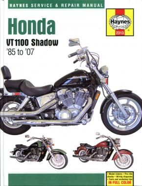 Honda Motorcycle Vt1100c Shadow 1985 1990 Repair Manuals Honda Shadow Repair Manuals Honda