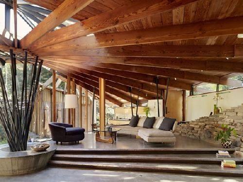 molduras en madera para techos - Buscar con Google   aberturas-pisos ...
