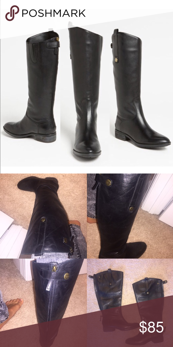 Sam Edelman Boots Like new. Only worn once or twice. Sam Edelman Shoes Winter & Rain Boots