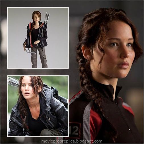 Jennifer Lawrence as Katniss Everdeen: The Hunger Games - Movie Masterpiece Collectible Doll