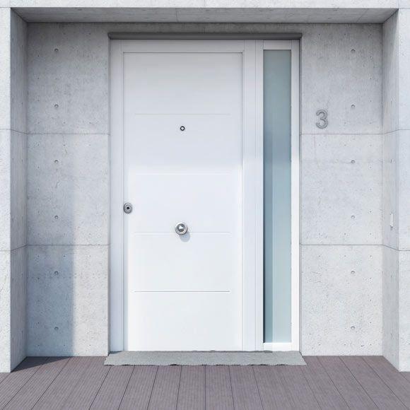 Saga m1105 blanca saga m1105 blanca ref 360109 - Puertas de aluminio leroy merlin ...
