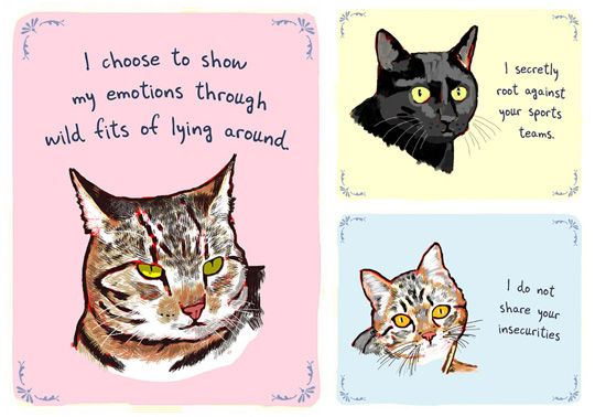 Tiny Confessions From Your Cat