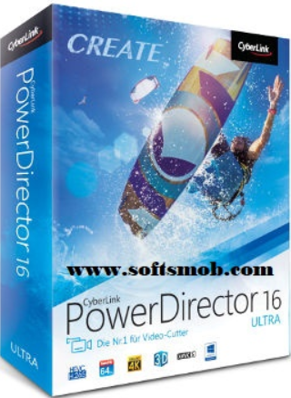 powerdirector 16 free download with crack