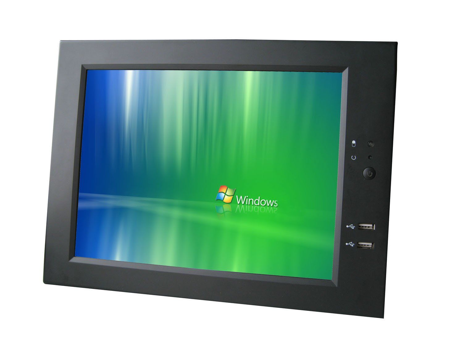 """Lilliput 10.4"""" Pc-1040/c/t Panel Pc Touch Screen. LCD MONITOR. Special multi-media software control. Touch screen control. Full function infrared remote control. Wired network control."""