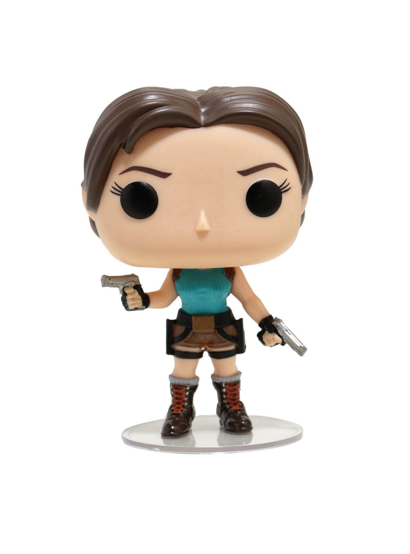 Funko Tomb Raider Pop Games Lara Croft Vinyl Figure Vinyl Figures Lara Croft Pop Games