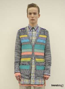 Missoni's Spring Summer 2011 Collection is Electric Cool #polkadots #polkadotfashion trendhunter.com