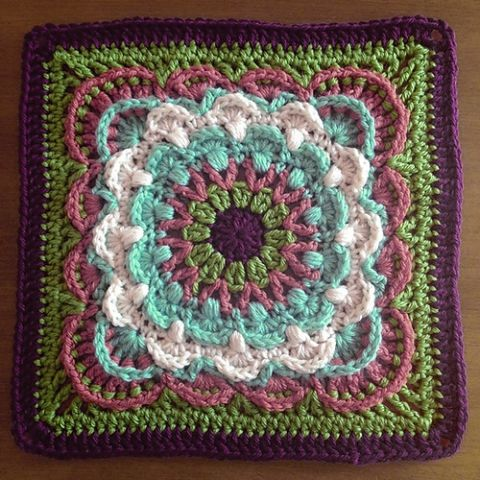 Beautiful, Free, and New Crochet Afghan Squares | Crocheted afghans ...