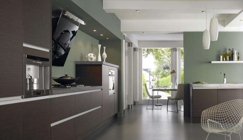 Abbinamento colore pareti e mobili wengè | arredamento nel ...