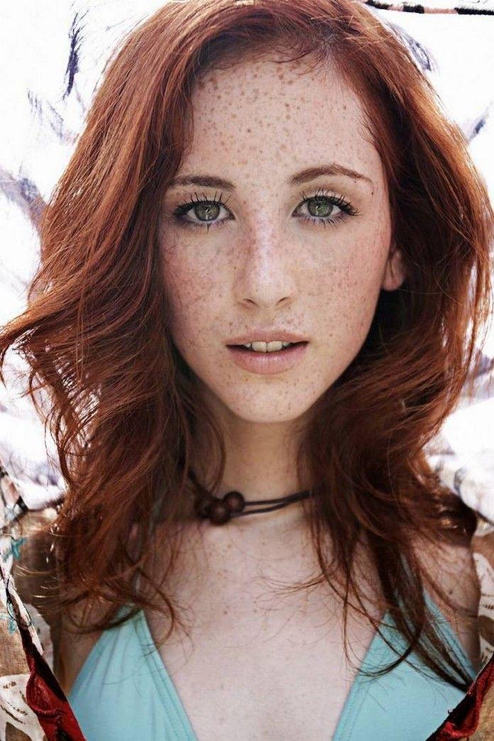 Due freckled irish redhead seems excellent