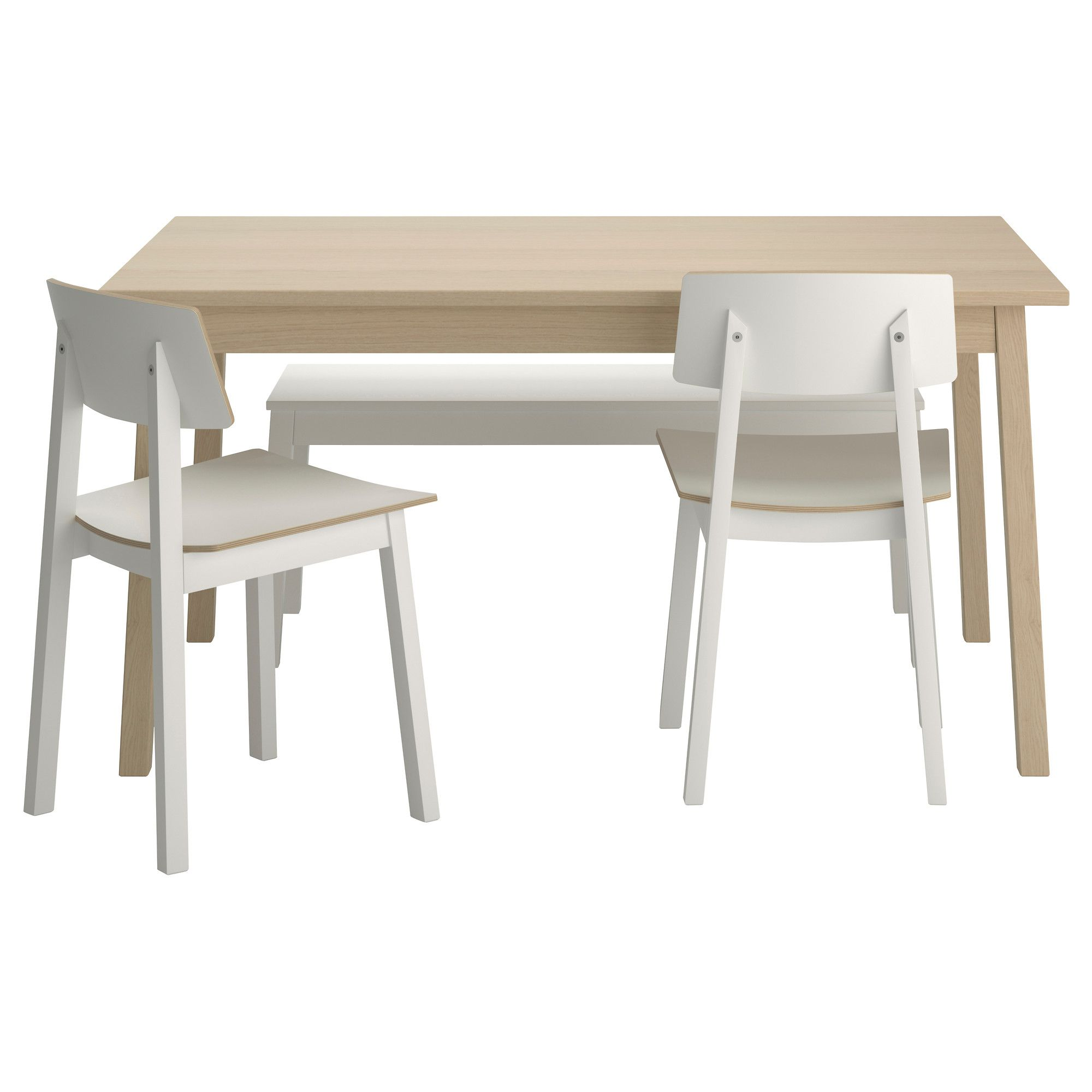 TRANETORP/SIGURD Table, bench and 2 chairs - IKEA | Home Sweet ...