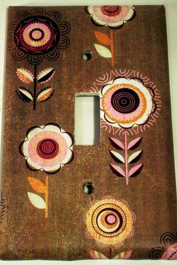 Switch Plate   Single Toggle    Beauty  804S by funkychickendesign, $6.00