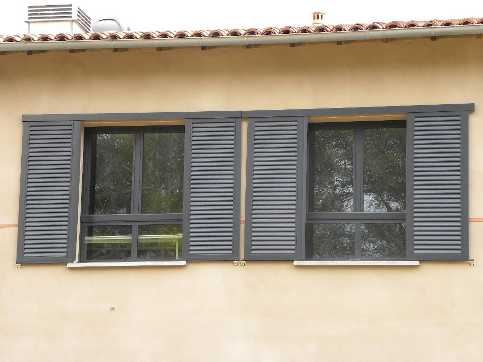 Volets coulissants persiennes maison pinterest louvre windows