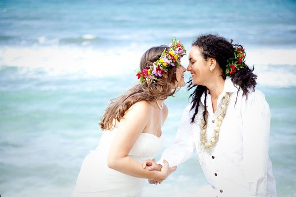 A Chicago Couple Taps Into A Brides Heritage Flying To Paradise And Adding Aloha Inspiration Into This Family Orchestrated Event