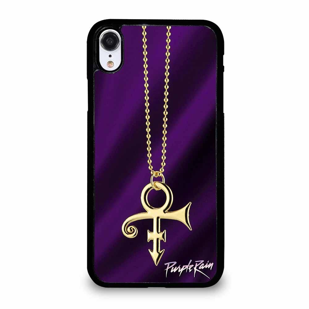 PRINCE PURPLE RAIN LOGO 1 iPhone XR case