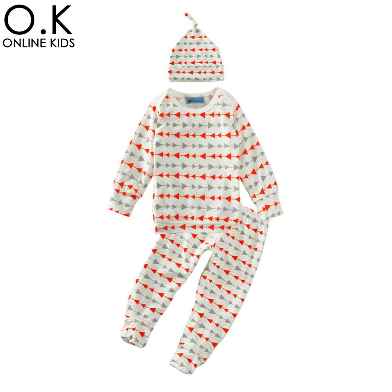 5222a1727 Baby Clothing Set Spring Children s Clothing Suits 2017 Geometry ...