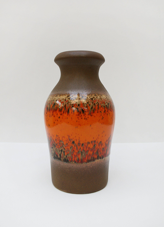 Pottery & Glass Radient Mid-century Urn Shaped Studio Ceramic Vase
