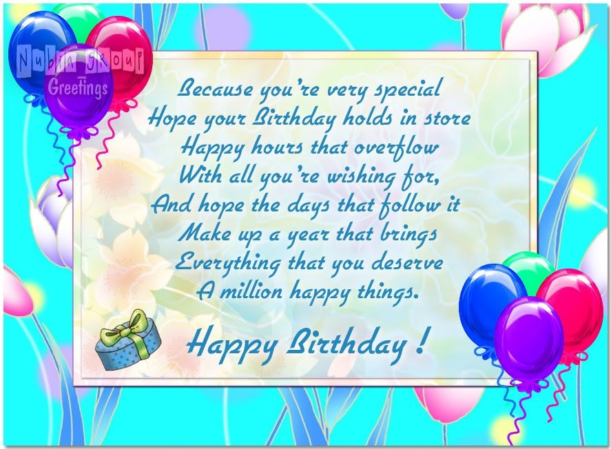 Birthday Cards Birthday card 4 5 – Picture Birthday Card