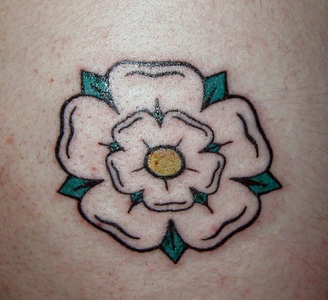 Finally Getting Mine Next Time I Visit Hudds Yorkshire Rose Tattoos Rose Tattoos