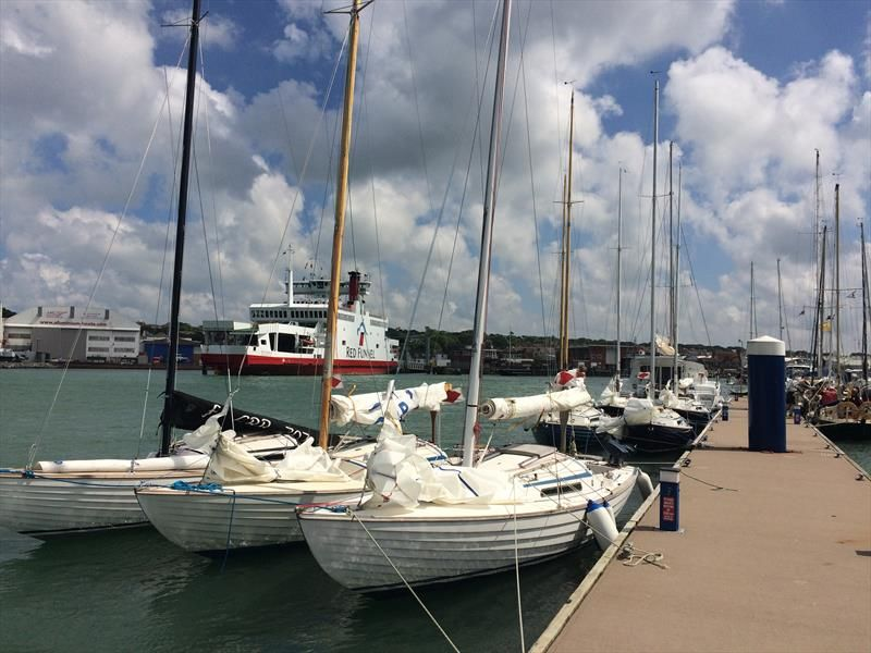 RLymYC Nordic Folkboat Race to Cowes