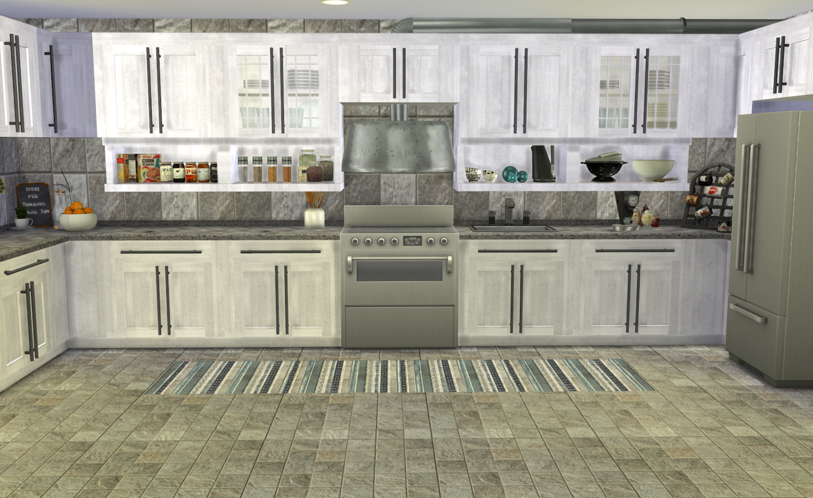Sims 3 Kitchen My Little The Sims 3 World Bayside Kitchen Recolor Furnitures