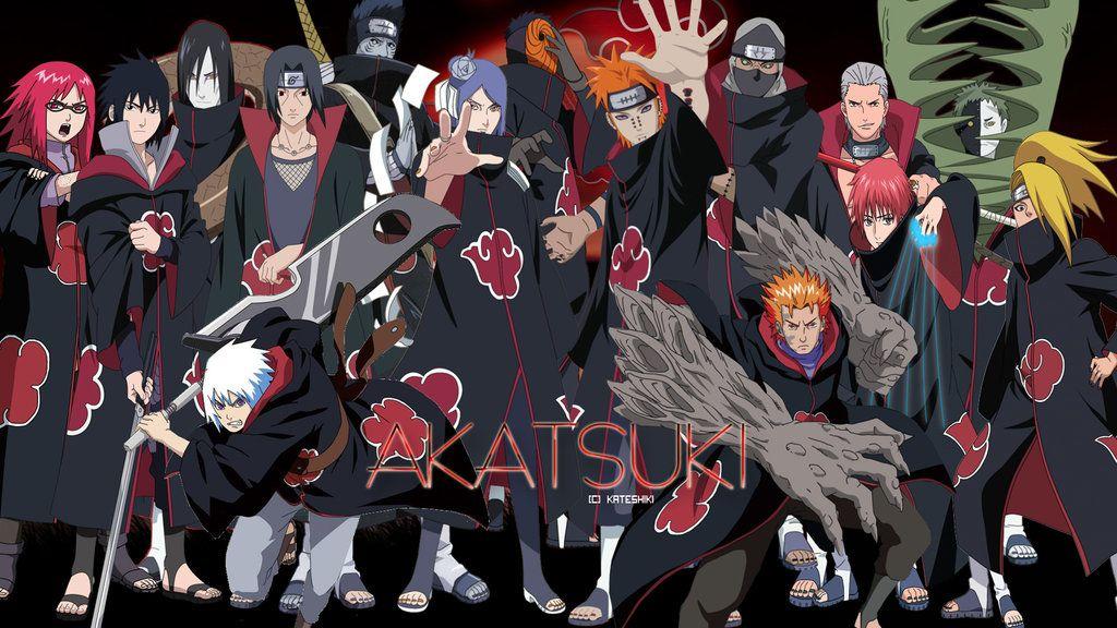 Free Download Akatsuki Hd Wallpaper Desenho De Anime Anime