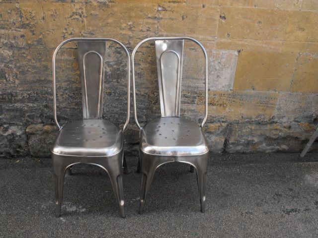 Vintage Metal Chairs Be Seated Pinterest Vintage Metal