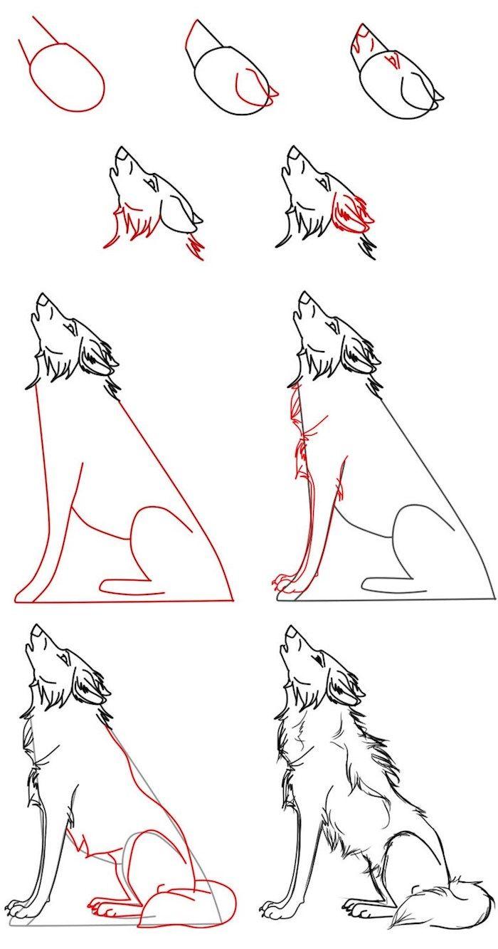 Photo of ▷ 1001 + astuces d'artiste pour apprendre à réaliser un dessin de loup