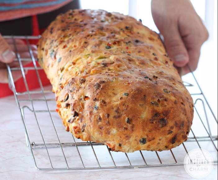 Pizzabrot Thermomix pizza brot mal anders receta cocina alemana cocinas y muchas