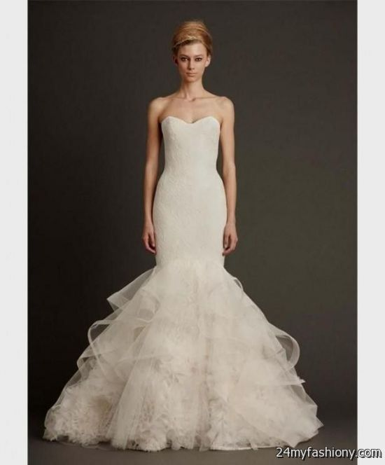 Mermaid Gown Wedding Dresses Style Vera Lace Dressses Ideas Weddings Searching Mermaids