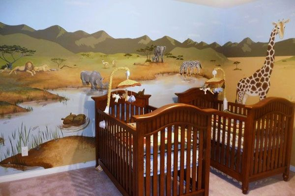 Safari Baby Room Jungle Theme