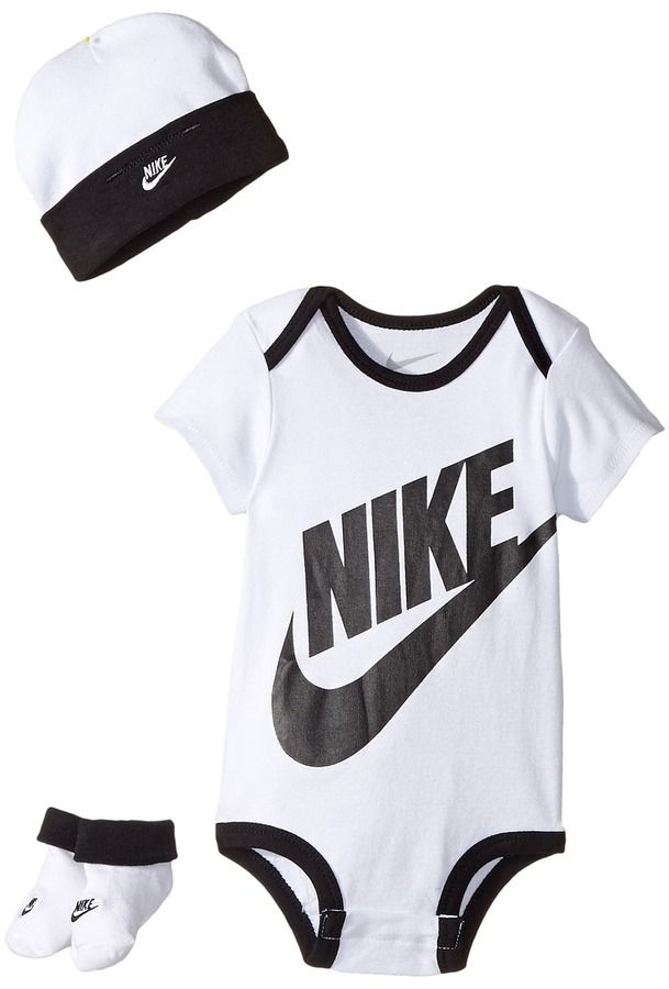 sale retailer f81b4 af184 Nike Kids - Three-Piece Pack Futura Logo Set Boy s Jumpsuit   Rompers One  Piece  ad