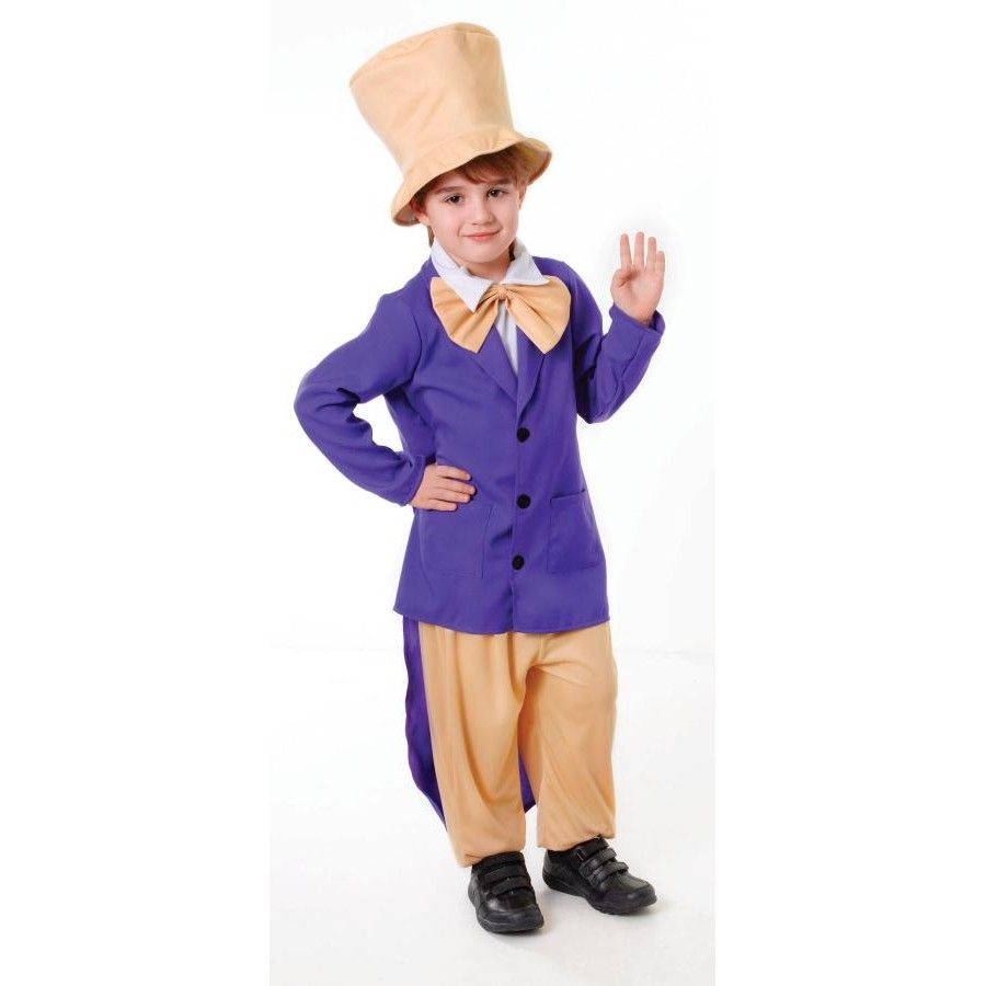 Willy Wonka costume at £13.95 www.party-head.co.uk | Childrens ...