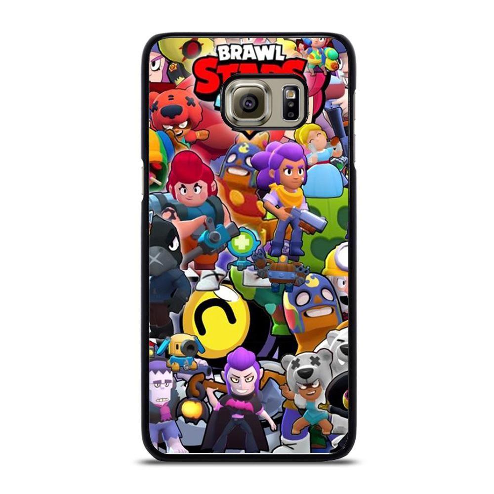 Brawl Stars Character Samsung Galaxy S6 Edge Case Telefon Kilifi Kiliflar Telefonlar
