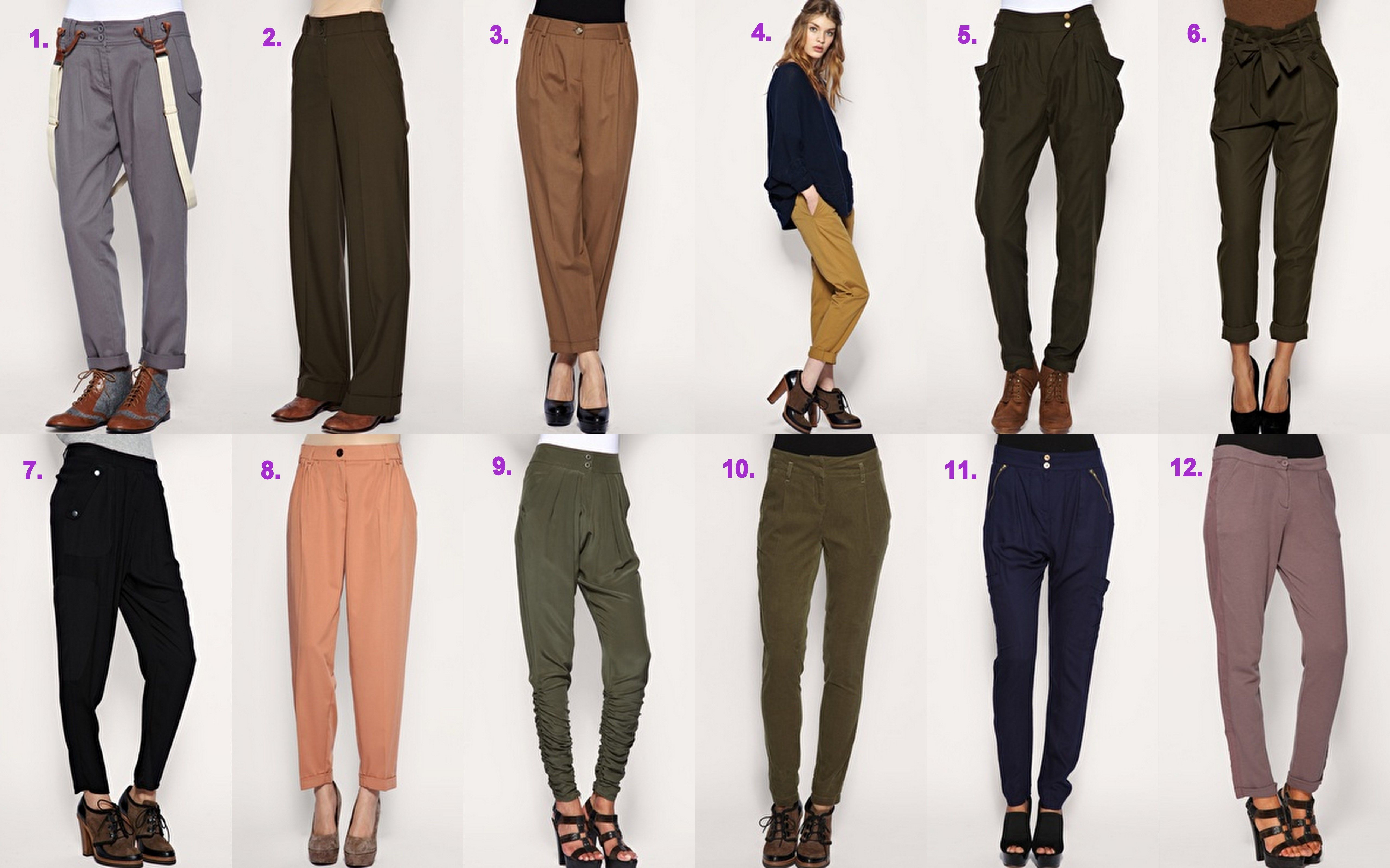 Women Pants Styles