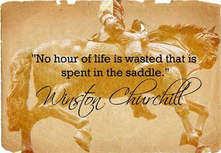 Winston Churchill: Horse Riding