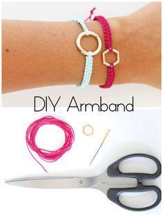 DIY Macramé Armbänder