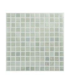 Madrid White Lustre Mosaic Tile