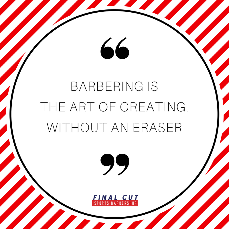 Good Thing We Know What We Re Doing Our Professional Barbers Deliver Every Service With Care And Precisio Barber Quotes Barbershop Quotes Barber Shop Haircuts